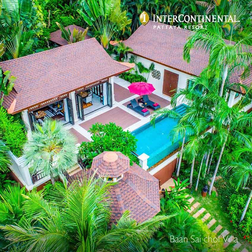 ที่พักพัทยาสวยๆ Intercontinental Pattaya
