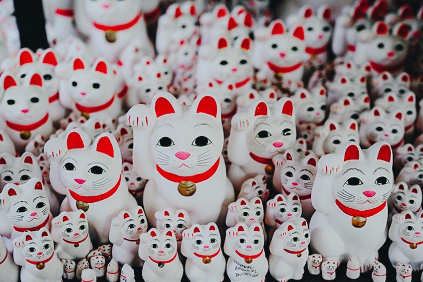 Gotokuji ศาลเจ้าแมวกวัก โตเกียว