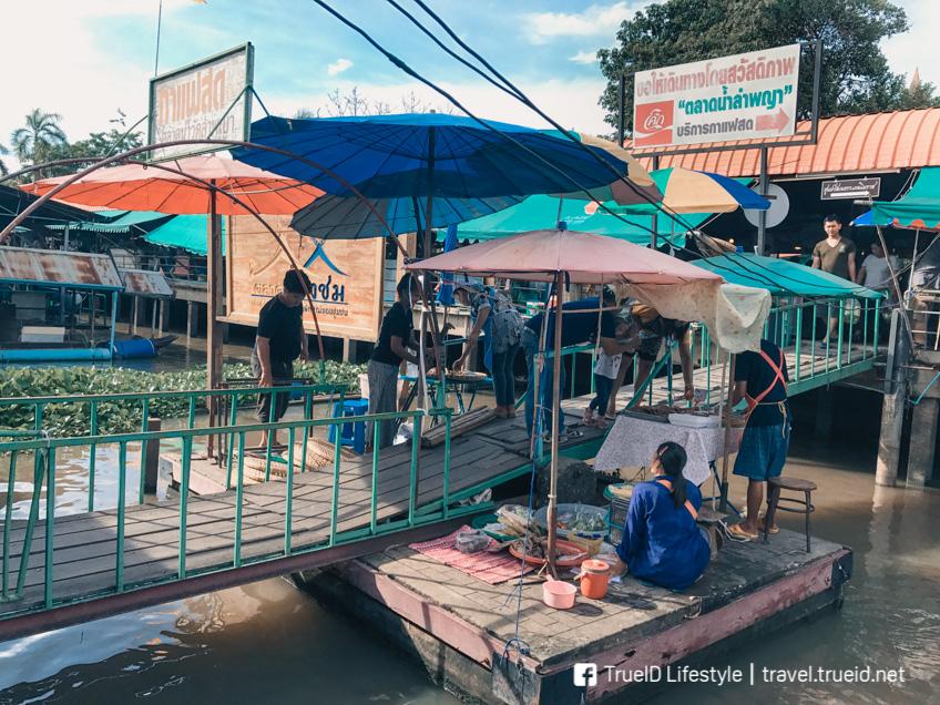 ตลาดน้ำใกล้กรุงเทพ