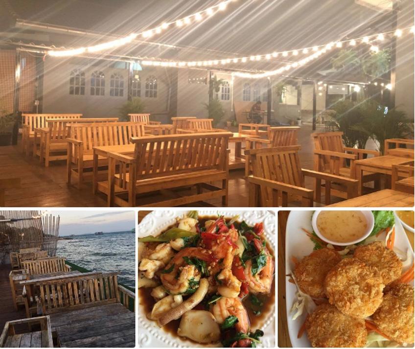 ร้านอร่อย เกาะล้าน พัทยา บรรยากาศสุดชิล ริมทะเล