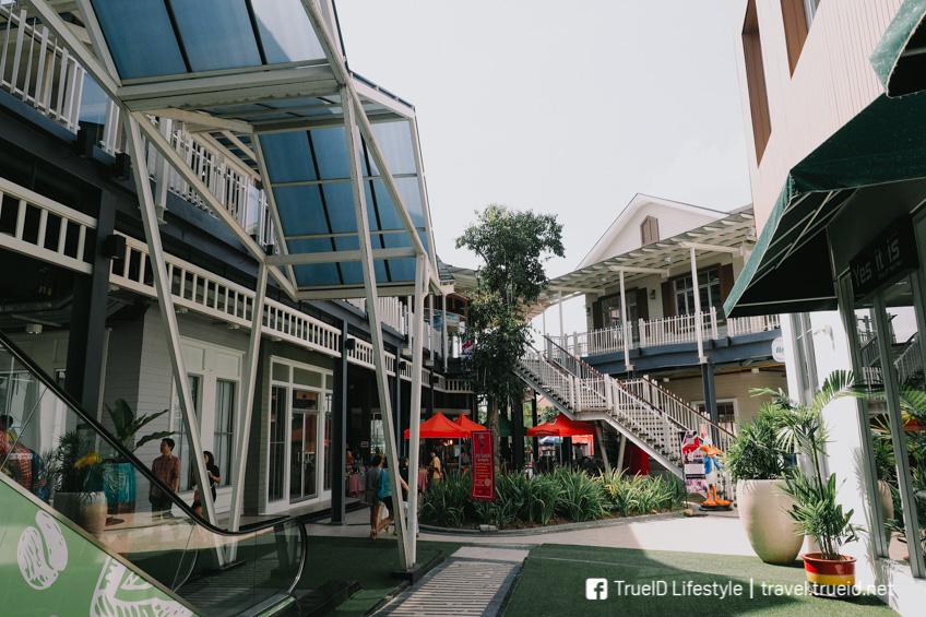 The Paseo Town คอมมูนิตี้ มอลล์ ถ่ายรูปสวย