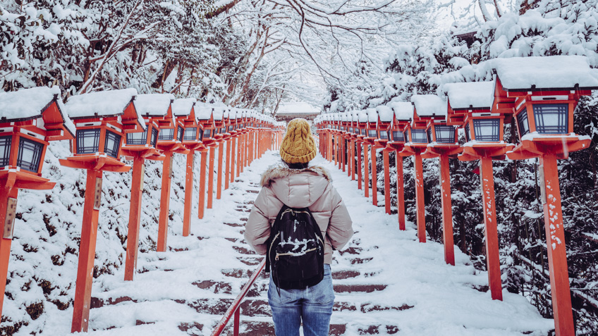 เที่ยวญี่ปุ่น ฉบับมินิมอล Kifune Shrine