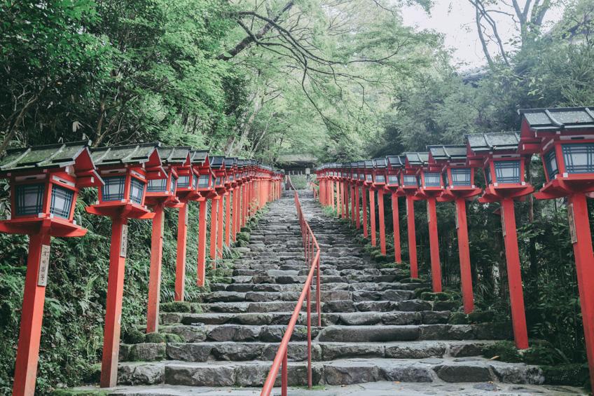 Kifune Jinja Shrine เที่ยวญี่ปุ่น ฉบับมินิมอล