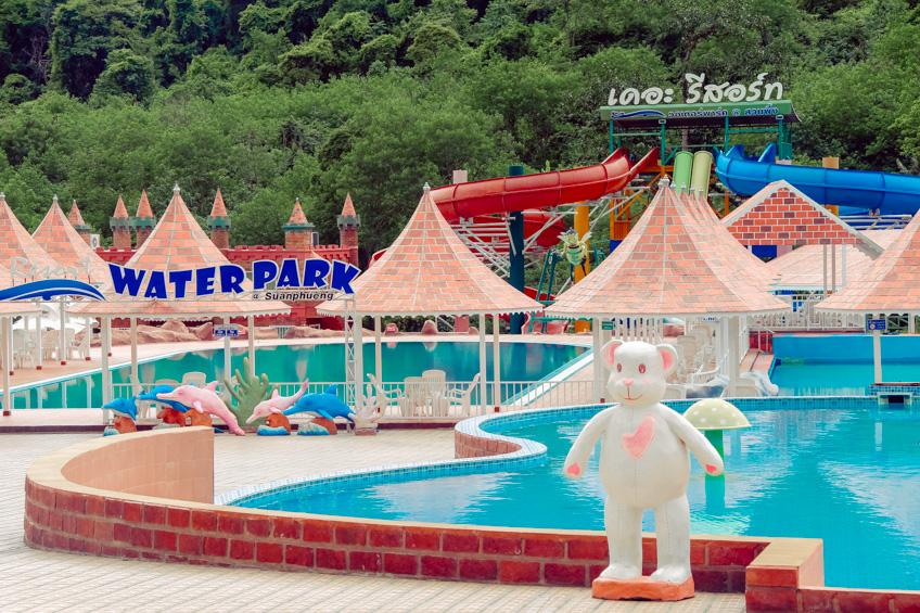 ที่พักมีสวนน้ำ เที่ยวใกล้กรุงเทพ