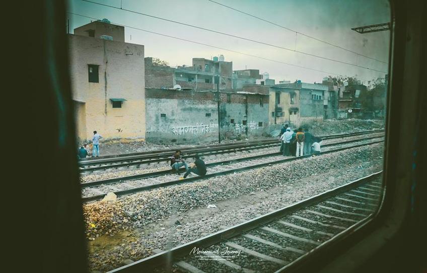 วิธีการขึ้นรถไฟอินเดีย