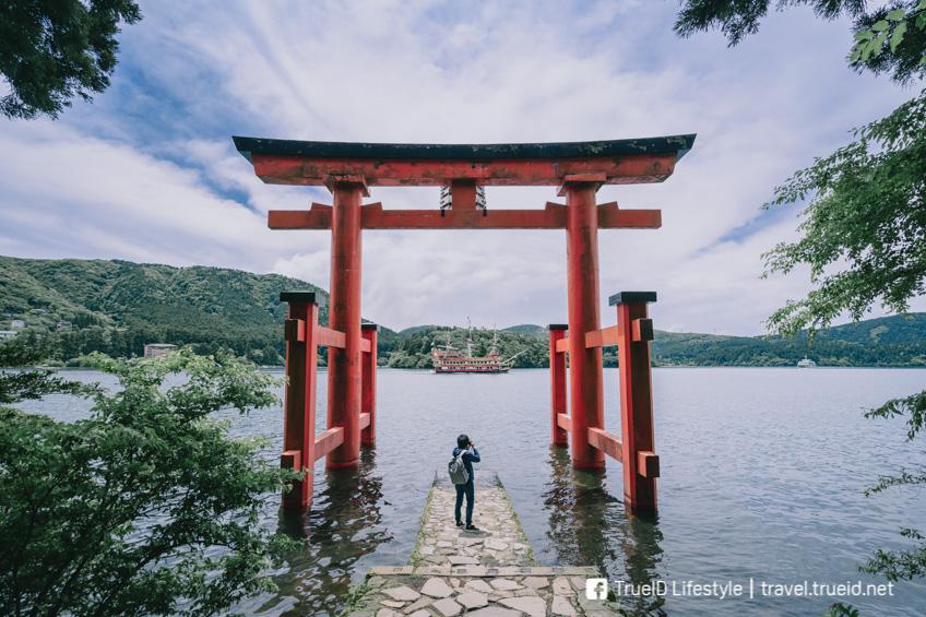 เที่ยวญี่ปุ่นหน้าร้อน ทะเลสาบอาชิ