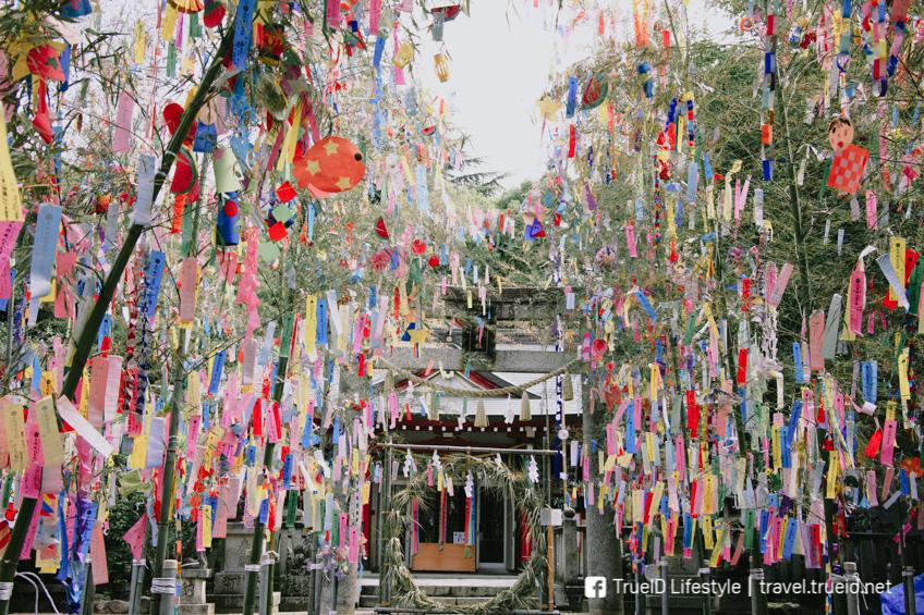 เที่ยวญี่ปุ่นหน้าร้อน เทศกาลทานาบาตะ