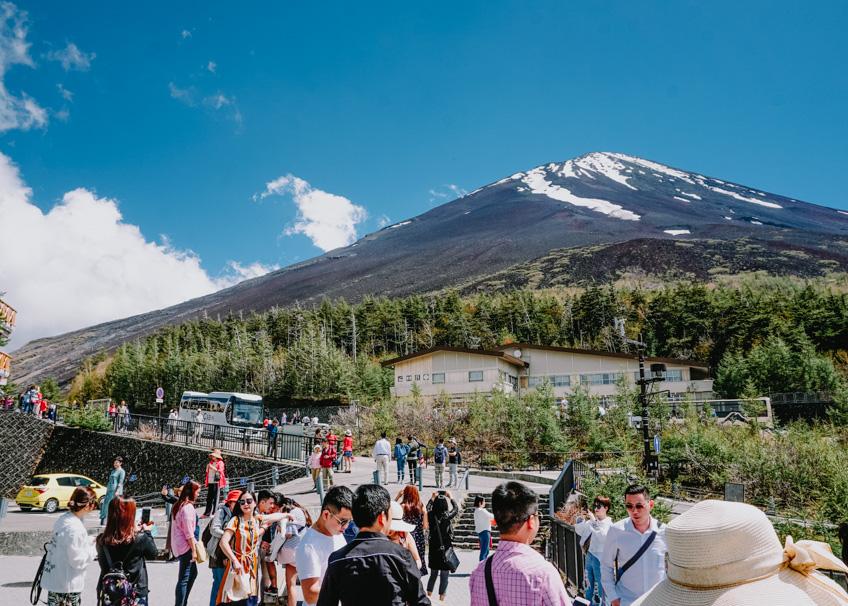 เที่ยวญี่ปุ่นหน้าร้อน ปีนภูเขาไฟฟูจิ