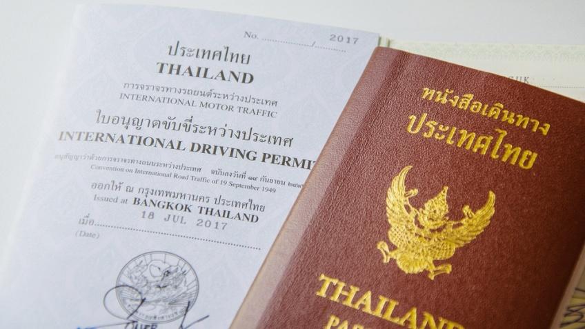 ใบขับขี่สากล ประเทศไทย