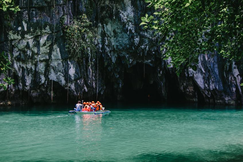 แม่น้ำใต้ดิน Puerto Princesa เที่ยวฟิลิปปินส์
