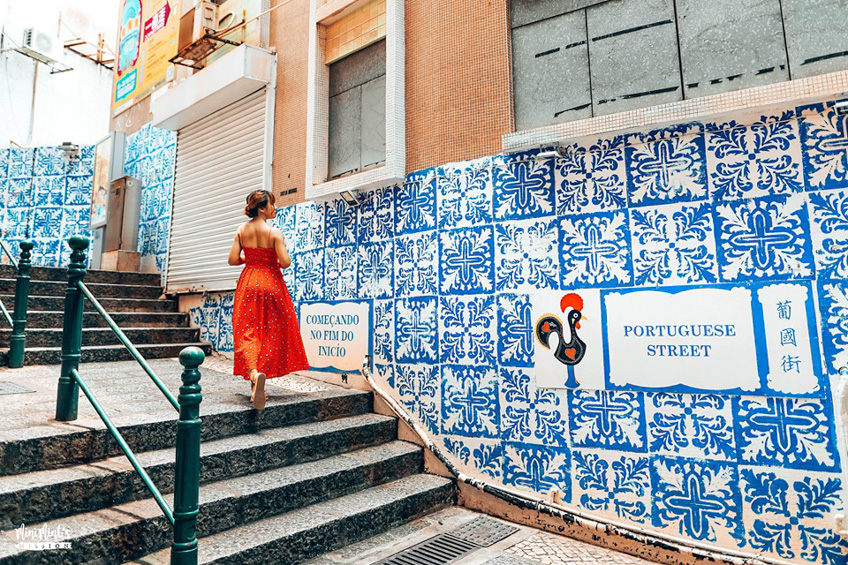มาเก๊า Portuguese Street