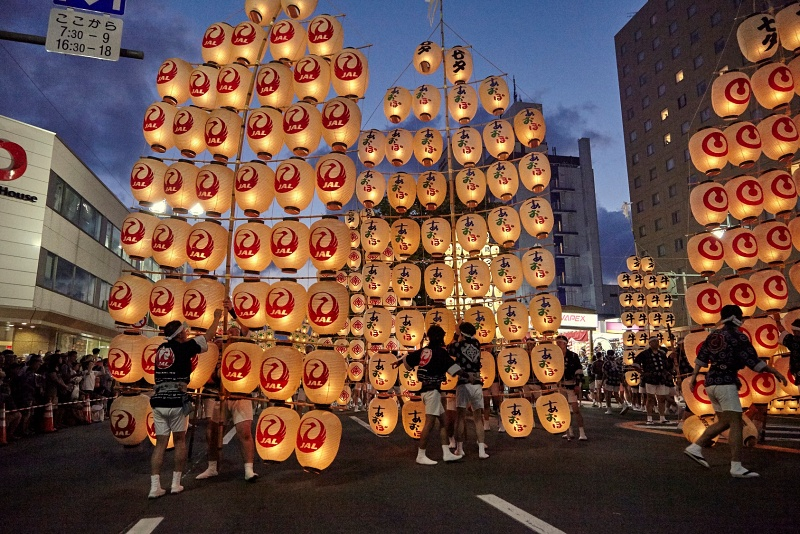 เทศกาลอาคิตะ คันโต ภูมิภาคโทโฮขุ ญี่ปุ่น