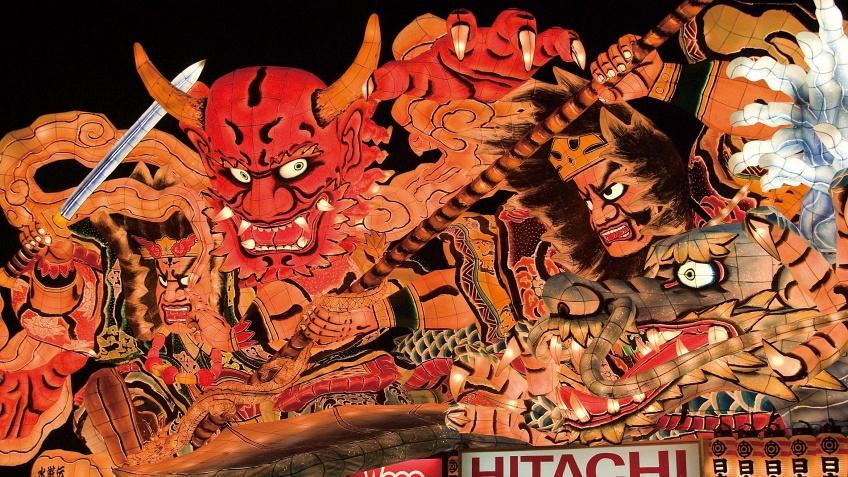 เทศกาลอาโอโมริ เนบูตะ มัทสึริ ภูมิภาคโทโฮขุ ญี่ปุ่น