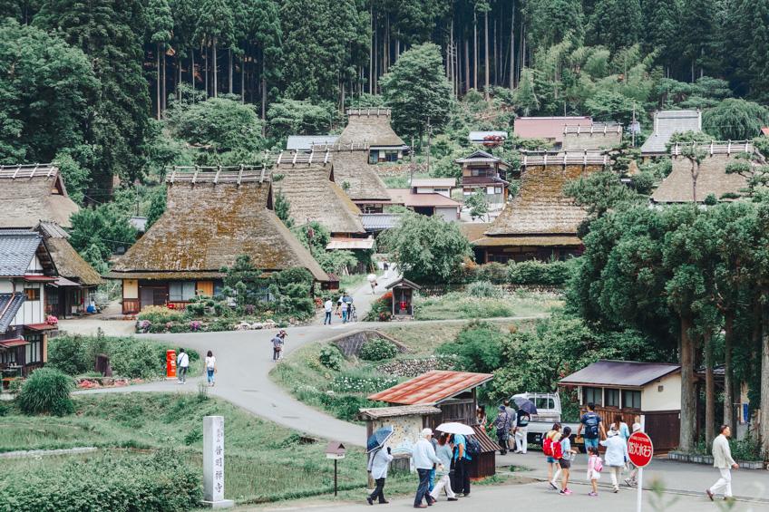หมู่บ้านมิยาม่า ที่เที่ยวรอบเกียวโต