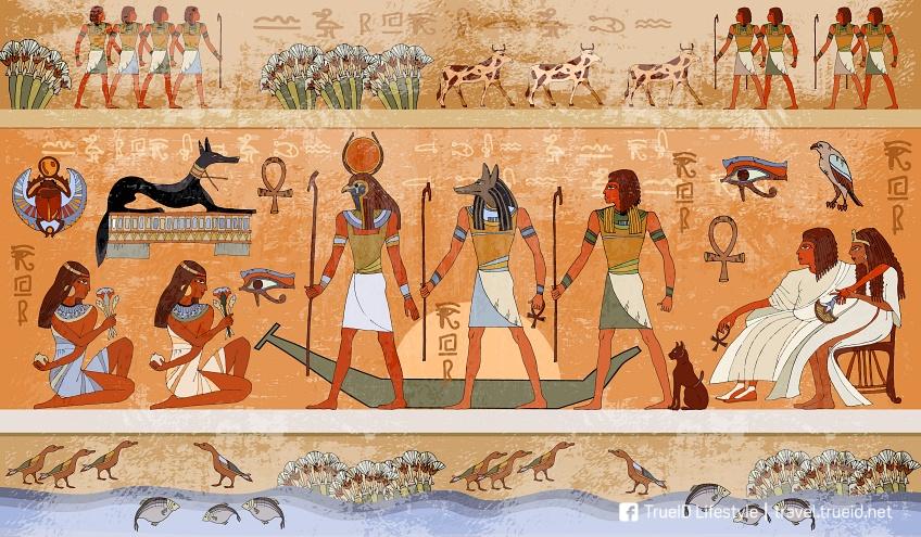 ภาพเทพเจ้าอียิปต์