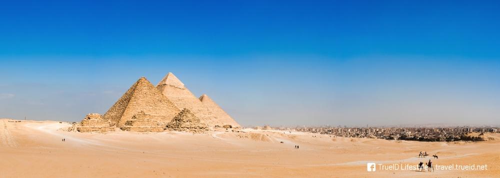 มหาพีระมิดเมืองกีซา อียิปต์