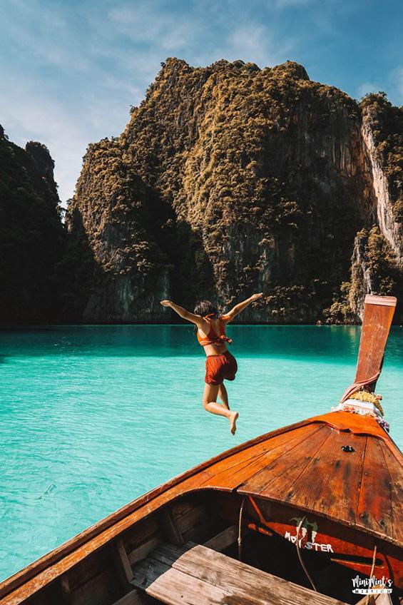 อ่าวปิเละ เกาะพีพีเล กระบี่