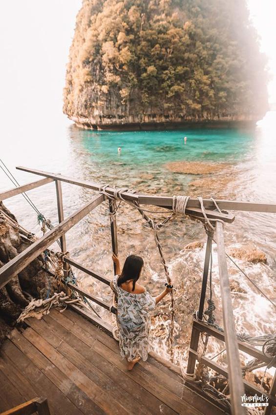 อ่าวมาหยา เกาะพีพีเล ทะเลกระบี่