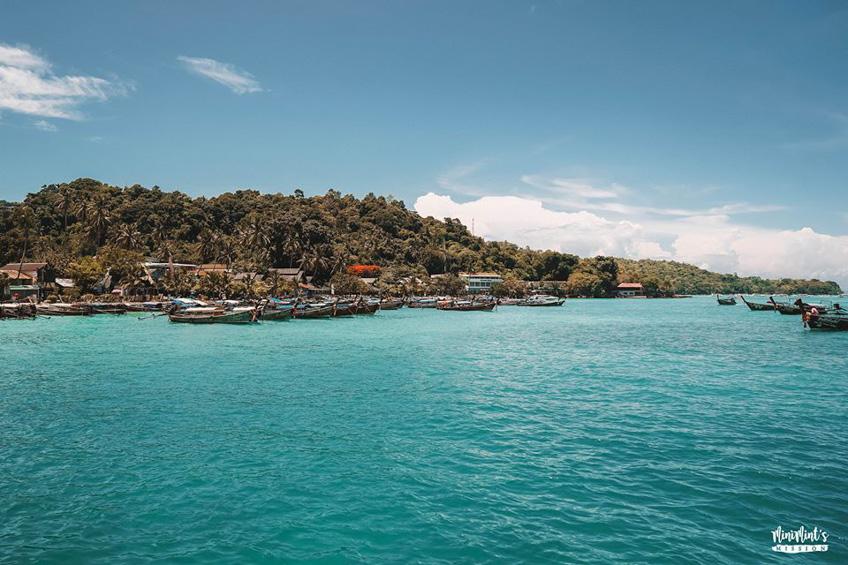 เกาะพีพี กระบี่ ทะเลสวย