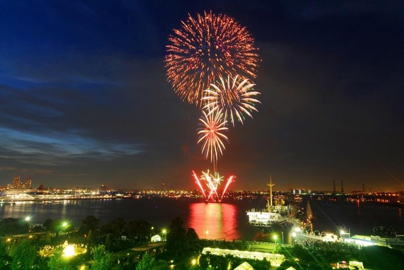 เทศกาลดอกไม้ไฟโยโกฮาม่า
