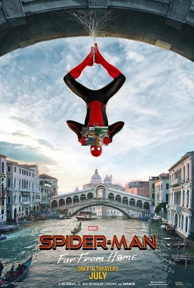 spider-man venice เวนิส