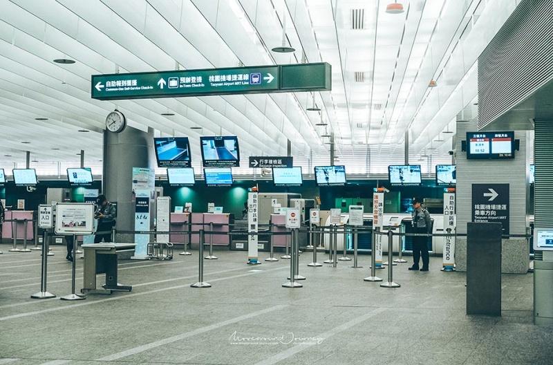 การทำ IN TOWN CHECK-IN ที่สถานี TAIPEI MAIN STATION