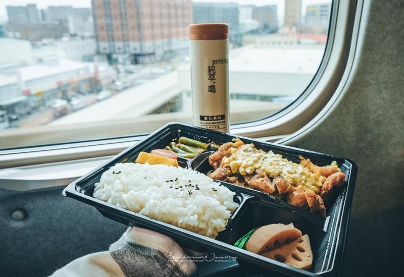 ข้าวกล่องในรถไฟความเร็วสูง ไต้หวัน