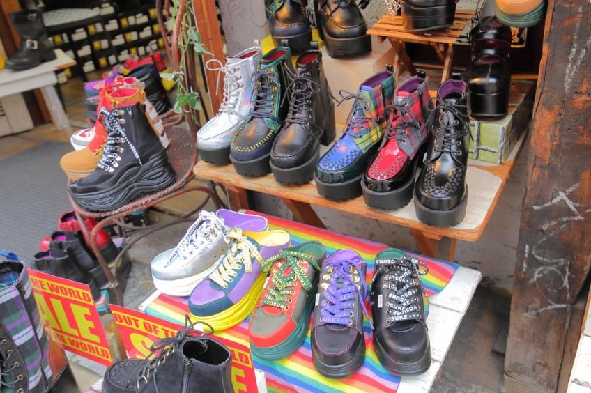 ร้านรองเท้า ญี่ปุ่น ย่านฮาราจูกุ