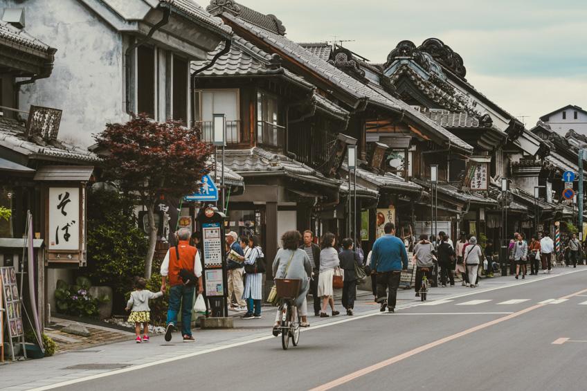 คาวาโกเอะ เมืองเก่าญี่ปุ่น
