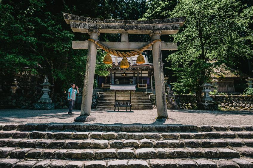 ศาลเจ้าชิราคาวะ หมู่บ้านชิราคาวาโกะ