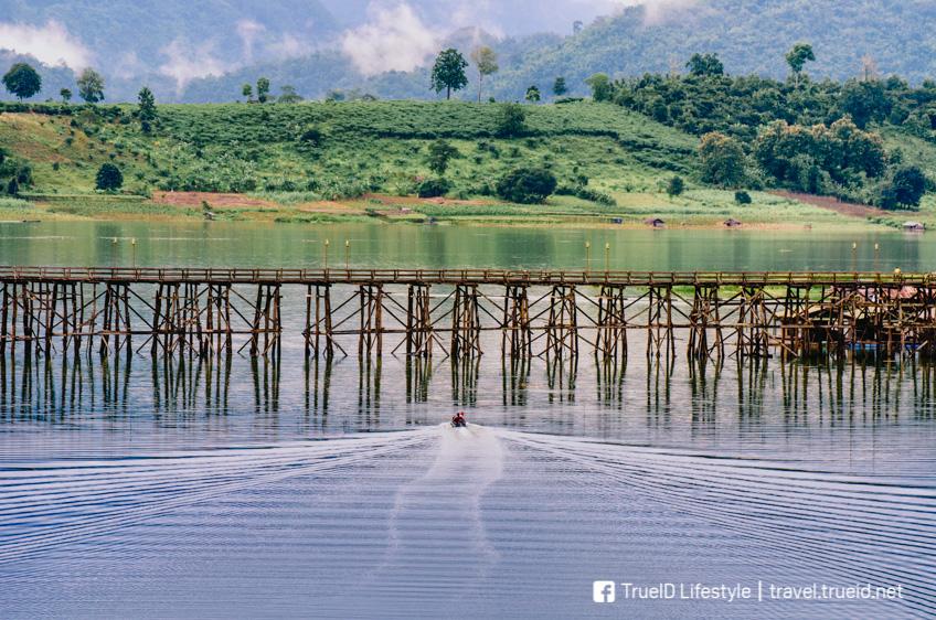 สังขละบุรี เที่ยวหน้าฝน กาญจนบุรี