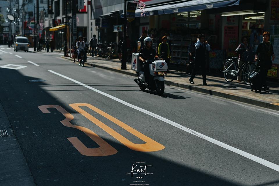 การใช้ความเร็วบนท้องถนนของญี่ปุ่น