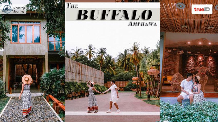 ที่พักอัมพวา The Buffalo Amphawa