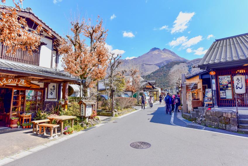 Yufuin เที่ยวญี่ปุ่น ถนนคนเดิน Yunotsubo