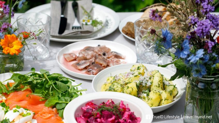 อาหาร เทศกาล midsummer