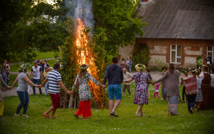 Midsummer in Latvia