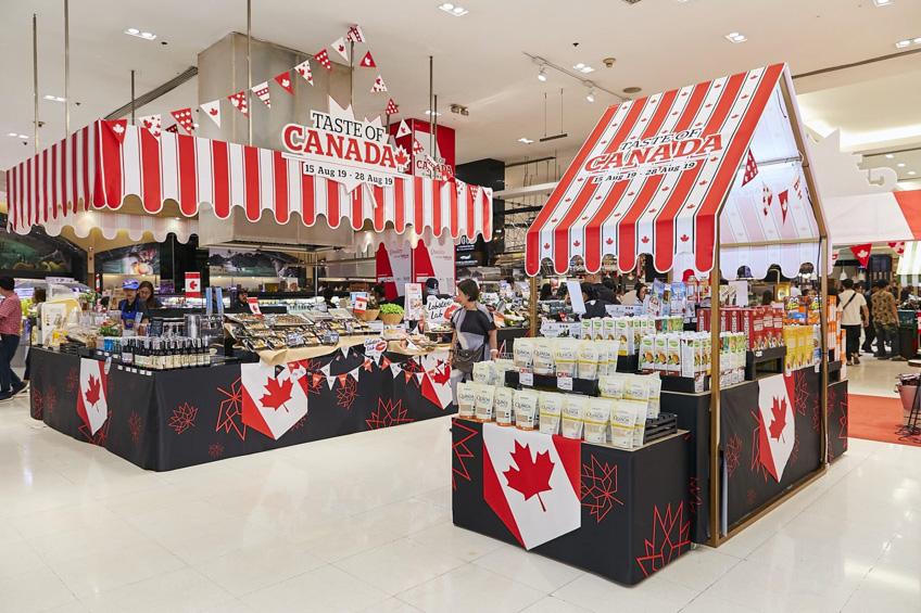 Taste of Canada พารากอน