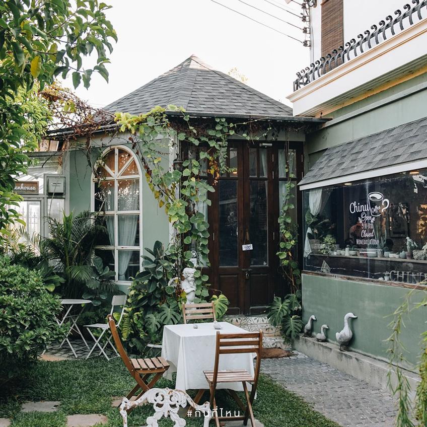 คาเฟ่นครปฐม ร้านกาแฟในสวน