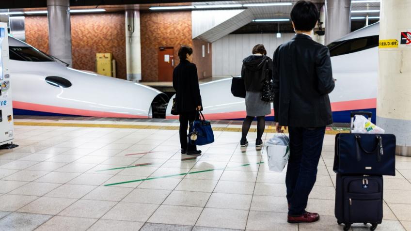 ชินคันเซ็น เก็บค่ากระเป๋า 1000 เยน