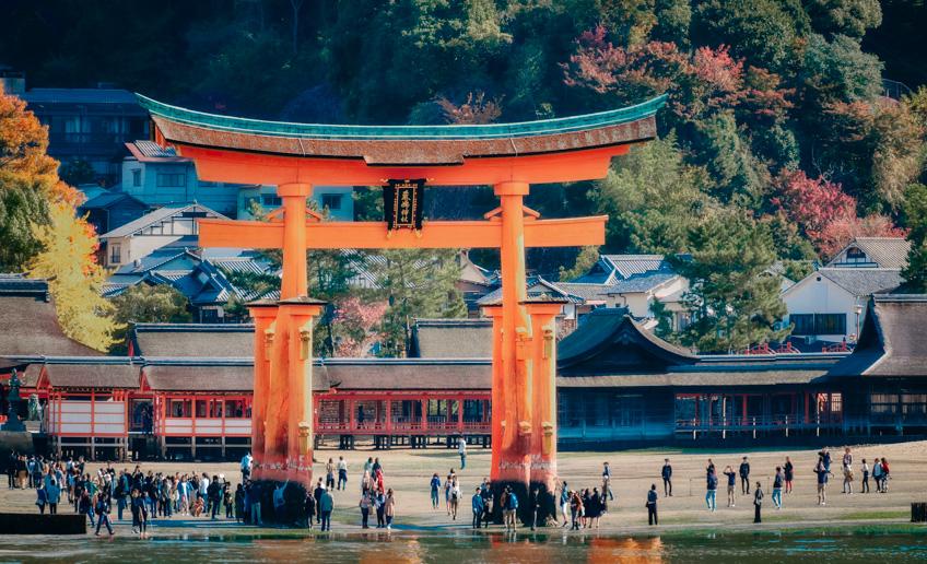 Miyajima ฮิโรชิม่า ที่ชม ใบไม้เปลี่ยนสี ญี่ปุ่น 2019