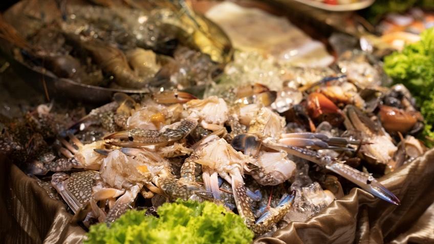 บุฟเฟต์นานาชาติ อาหารทะเล