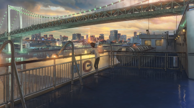 Rainbow Bridge เที่ยวตามรอย weathering with you
