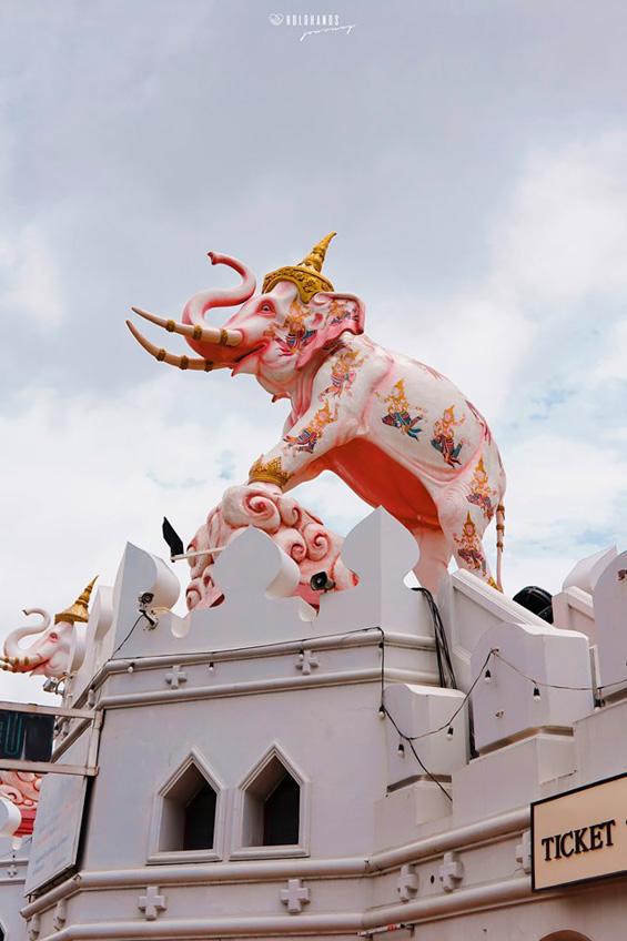ช้างเอราวัณ ที่เที่ยวสมุทรปราการ