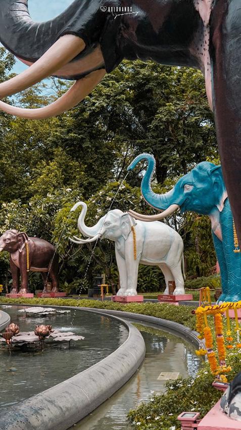 เที่ยวใกล้กรุงเทพ พิพิธภัณฑ์ ช้างสามเศียร