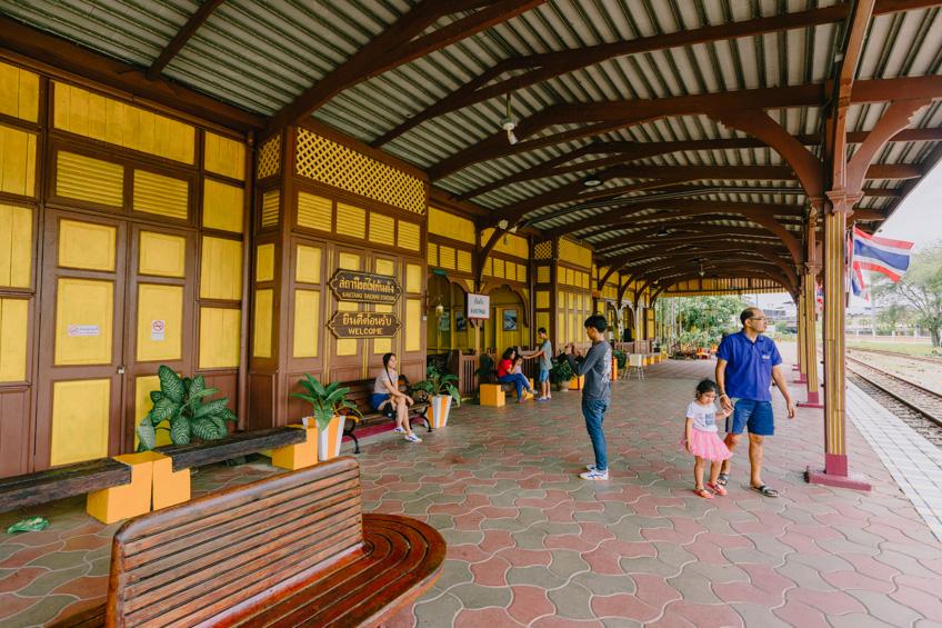 สถานีรถไฟกันตัง ที่เที่ยวตรัง