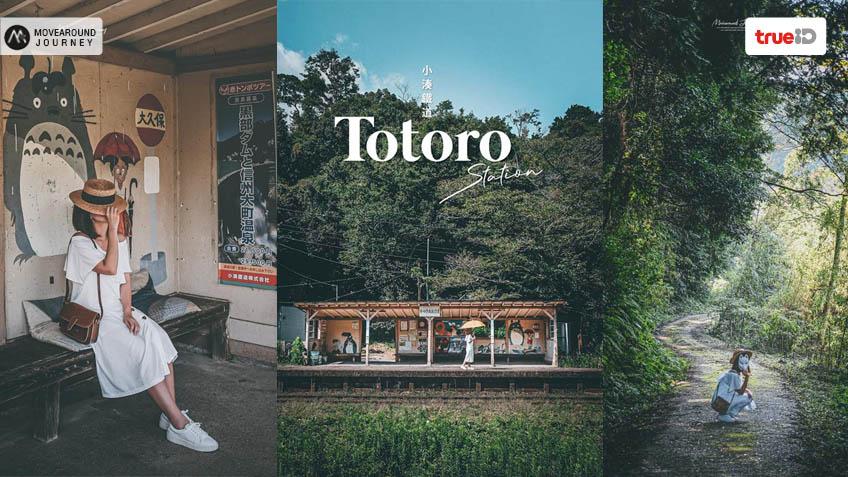 นั่งรถไฟเที่ยวญี่ปุ่น ที่เที่ยวชิบะ Totoro Station
