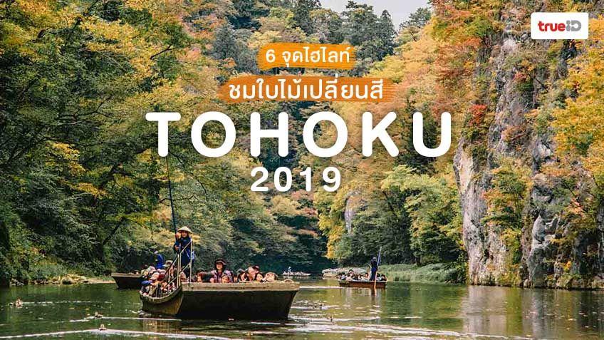 6 จุดไฮไลท์ ชมใบไม้เปลี่ยนสี ที่ภูมิภาคโทโฮคุ ญี่ปุ่น 2019