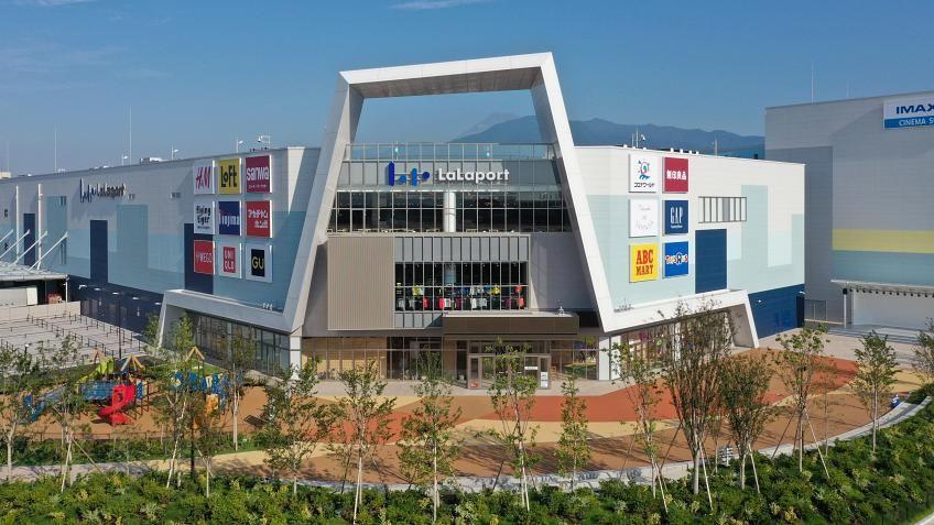 เที่ยวญี่ปุ่นช่วงฮาโลวีน แวะช็อปห้างใหม่ย่านชิสุโอกะ Mitsui Shopping Park LaLaport NUMAZU
