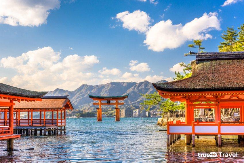 ศาลเจ้าชินโต อิสึกุชิมะ มรดกโลก ญี่ปุ่น