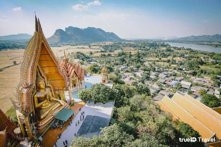 วัดสวยในไทย วัดถ้ำเสือ กาญจนบุรี